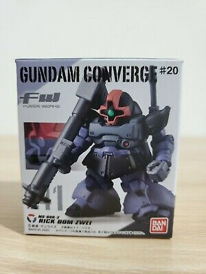 Bandai FW Gundam Converge #12 191 MS078 GOUF blue ZAKU gundam mini figure
