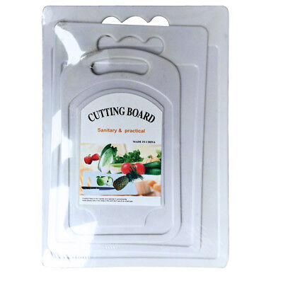 Chopping Board Set2 Solid Plastic Kitchen Food Cutting Boards High Quality