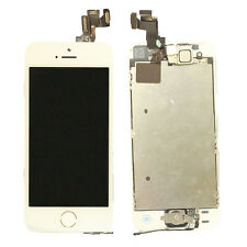 Premium Screen Digitizer LCD Display For iPhone 5S Small Parts Cold Press White