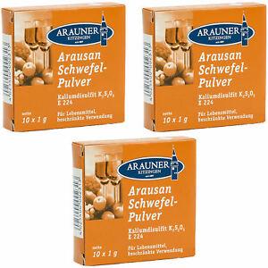 3-Packungen-a-10x1g-Arausan-Schwefelpulver-Arauner-Kitzinger