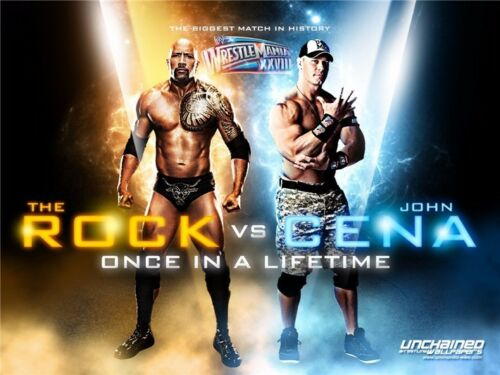"035 John Cena World Heavyweight Champion Hot Star Art Print Poster 17/""x13/"""