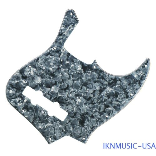 4Ply Grey Pearl 10 Holes 4-String JB Pickguard Screws for FD Jazz Style Bass