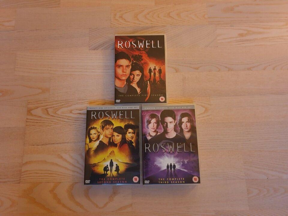 Roswell, DVD, TV-serier