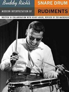 Buddy-Rich-039-s-Modern-Interpretation-of-Snare-Drum-Rudiments-Paperback-by-Rich