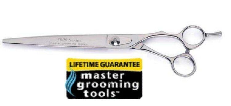 MASTER GROOMING PET DOG CAT Pro 8.5 Japanese COBALT STEEL Deluxe Shears Scissors