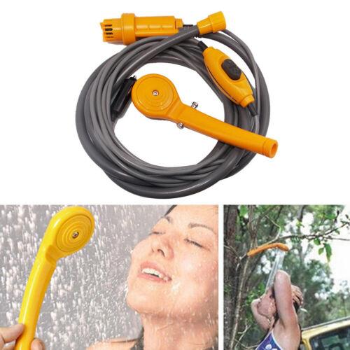 12V Outdoor Car Shower Kit Vehicles Washer Universal Portable Sprinkler Mini