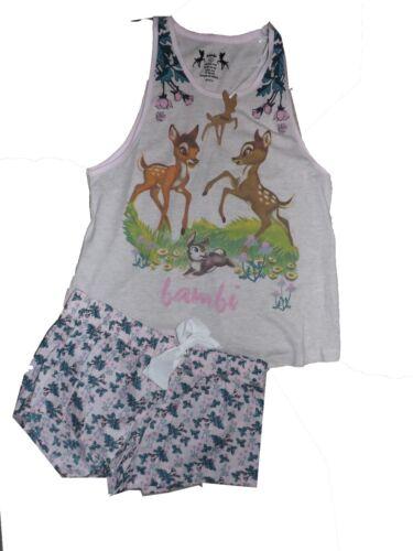Primark bambi pyjama shorts set UK 6-8 or 10-12 BNWT free UK postage