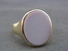 schöner alter Siegel-Ring 585/-Gold Lagenstein 60er Jahre