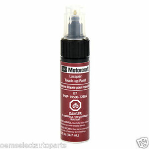 Oem New Genuine Ford Sunset Red Metalllic Touch Up Paint