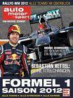 Formel 1 Saison 2012 von Michael Schmidt (2012, Gebunden)