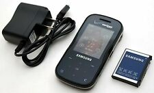 Samsung Trance SCH-U490 Verizon Slider Cell Phone BT GPS MP3 Music 1.3MP BLACK