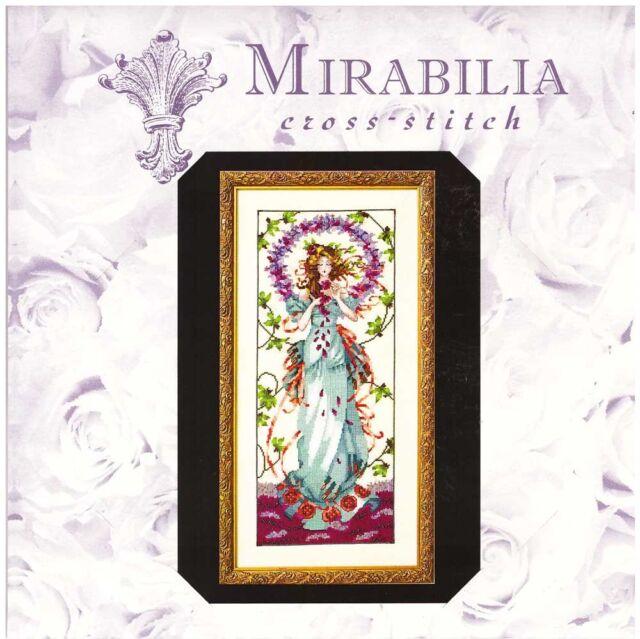 Mirabilia Nora Corbett Counted Cross Stitch Chart ~ BLOSSOM GODDESS #146 Sale