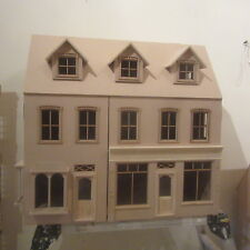 Escala 1/12 Casa De Muñecas DHD21233 Kit de tienda de doble Radcliff