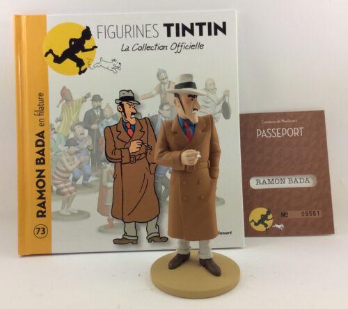 Collection officielle figurine Tintin Moulinsart 73 Ramon Bada