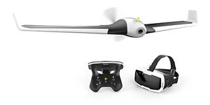 Parrot-Disco-FPV-Kameradrone-Drohne-Action-Cam-Skycontroller-Brille
