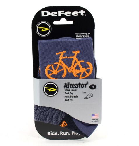 DeFeet Aireator 3-inch Townee Socks Graphite Medium