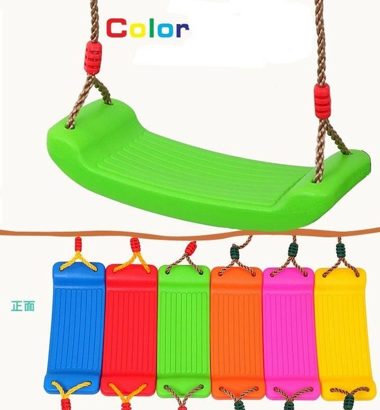 Swingset Swingset Swingset Mixed color Swing Set With 6.9FT Rope Garden Toy Swing Kits Free Ship 3d2949