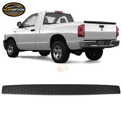 KARPAL Rear Tailgate Upper Top Protector Molding Cap Compatible With 2002-2009 Dodge Ram 1500 2500 3500