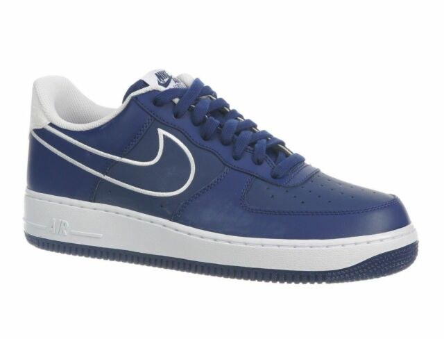 grossiste c3d3f e315a Nike Air Force 1 '07 Leather Low Men's (Size 11.5) Blue / White AJ7280 400