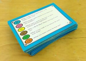 50 Trivial Pursuit Young Players Edition Cards