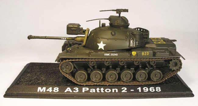 M48A1 Patton - 1968 1 72 Amercom Military Vehicles