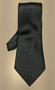 FIRENZE-Light-Blue-Self-Tipped-Tie-10cm-Width-100-Silk-Made-in-Italy