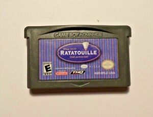Nintendo Gameboy Advance RATATOUILLE No Manual - No Box - Tested