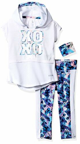Pick SZ//Color. XOXO Toddler Girls 3 Piece Performance Top and Legging Set