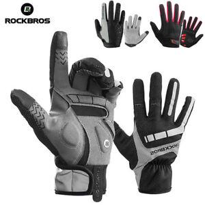 RockBros-Men-Full-Finger-MTB-BMX-Bike-Cycling-Gloves-Gel-Long-Touchscreen-Gloves