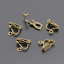 50pcs DIY Handcraft Gold Silver Clip On Earring Jewelry Making Findings craft