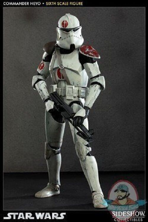 Star Wars 1/6 Scale Commander Neyo Militaries 12 inch by Sideshow Collectibles