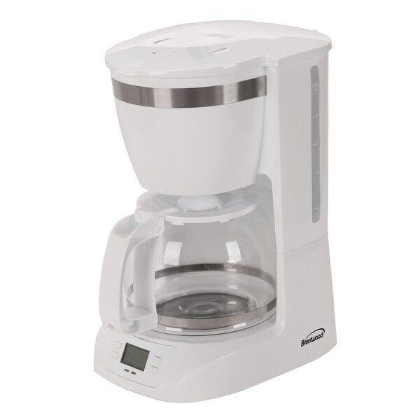 BRENTWOOD(R) APPLIANCES TS-219W Brentwood Appliances 10-Cup Digital Coffee Ma...