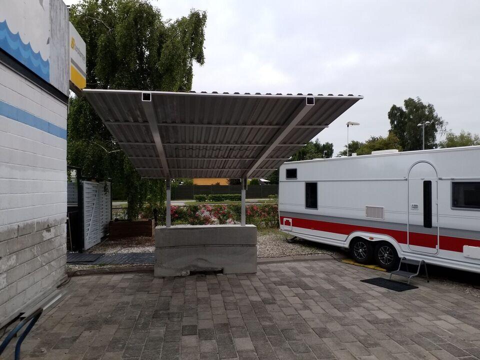 Campingvognens carport