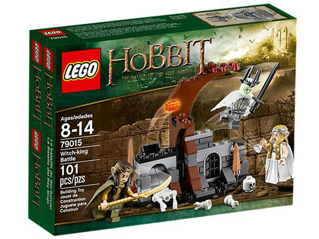 New New New Sealed Lego The Hobbit 79015 Witch-king Battle a78b78