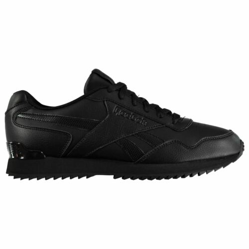 Reebok Mens Royal Glide Ripple Clip Lace Up Low Cut Sports Shoes Trainers