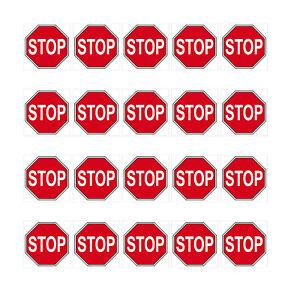 20-Autocollant-1cm-Stop-Bouclier-Signes-Symbole-Modelisme-Mini-4061963009475