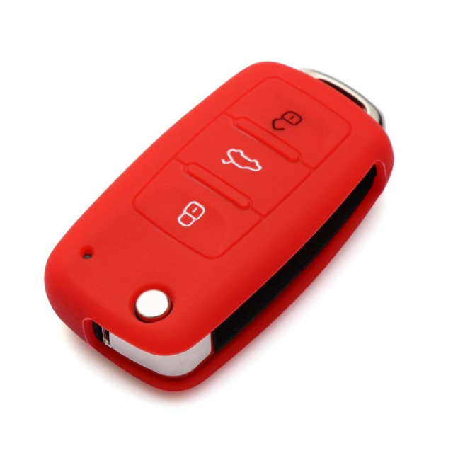 9 Moon/® Silicone Remote Flip Key FOB Silicone Case Cover For VW Volkswagen New