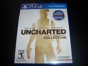 Replacement Case No Game Uncharted Nathan Drake Collection Playstation 4 Ps4 Ebay