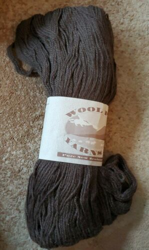28 Brownstone Wool Pak Yarns NZ 250 Grams 100/% Pure New Wool From New Zealand