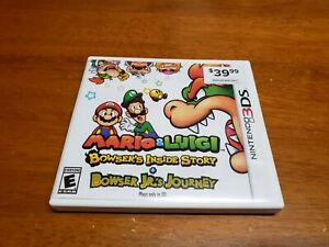 Mario-amp-Luigi-Bowser-039-s-Inside-Story-Nintendo-3DS-TESTED-Fast-Shipping-3DS-2DS