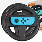 Orzly Steering Wheel for Nintendo Switch - Twin Pack (Black)