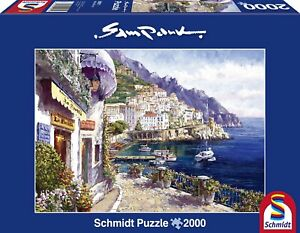 SAM PARK - AMALFI AM NACHMITTAG - Schmidt Puzzle 59271- 2000 Teile Pcs.