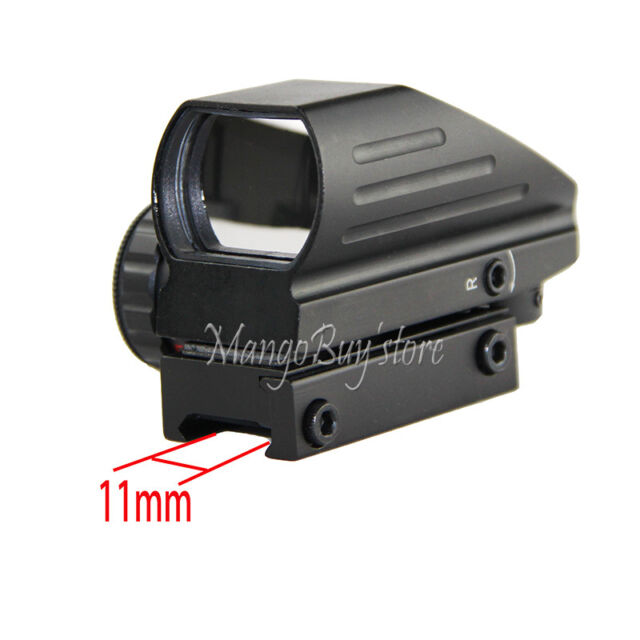 Holographic Compact 4 Reflex Red Green Dot Scope Sight Picatinny Rail 11mm