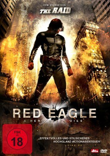 The Red Eagle - A Hero Never Dies - DVD Science Fiction Action Gebraucht - Gut