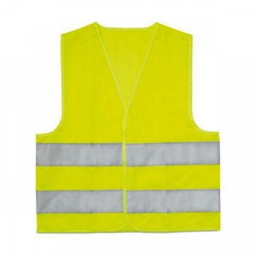 Warnweste Kinder Signalweste Funktionsweste Sicherheit gelb Neon Schutzweste OVP