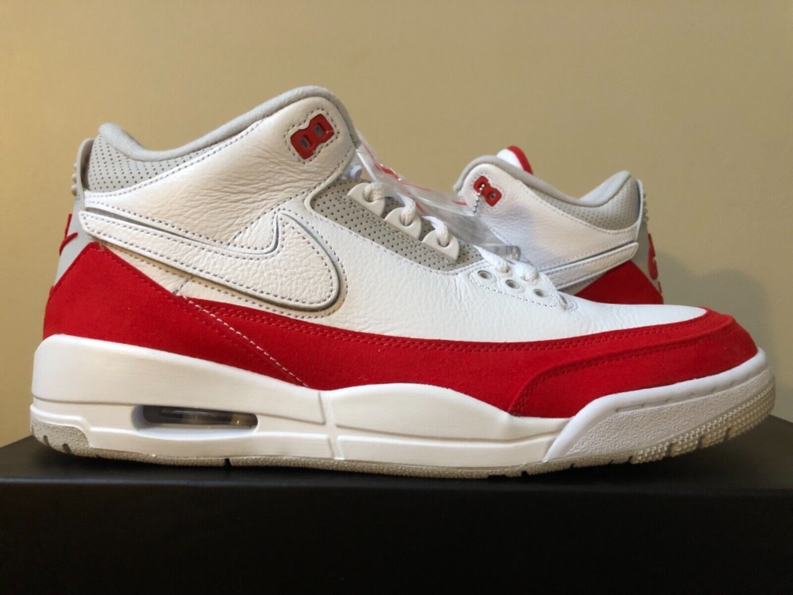 Air Jordan Retro 3 TH Tinker White Red CJ0939-100 8-14 LIMITED 100% Authentic