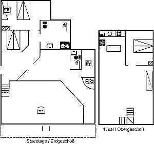 sommerhus, Otterup, sovepladser 8