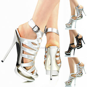 68a1318a7b0 The Most Expensive Double Platform High Heel Diamante Court Shoe 12401196.  Image is loading NEW-WOMENS-LADIES-HIGH-HEEL-DOUBLE-PLATFORM-EVENING-