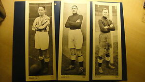 TOPICAL-TIMES-PANEL-PORTRAITS-FOOTBALLER-4th-SERIES-MAN-U-WOLVES-EVERTON-CHELSEA