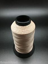 4oz Spool T70 Light Tan Bonded Nylon Sewing Thread 1500 Yards B69 Fabric N10
